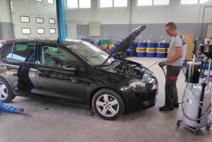Servis VW Golf 6