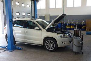 Servis VW Tiguan